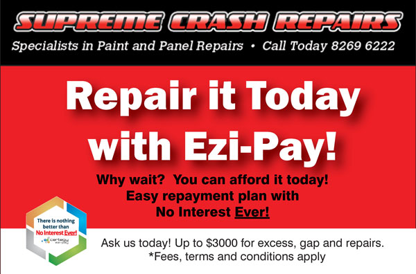 Repair with Ezi-Pay