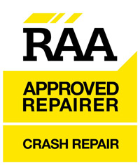 raa approved crash repairer